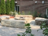 Brick Firepit and Brick Paver Patio