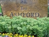 Ashford Sign and Flowers